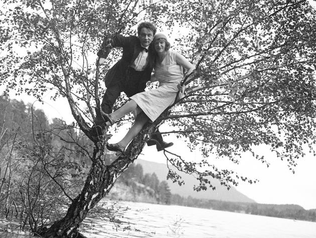 Eivind og Borghild Fossheim - jolstramuseet.no